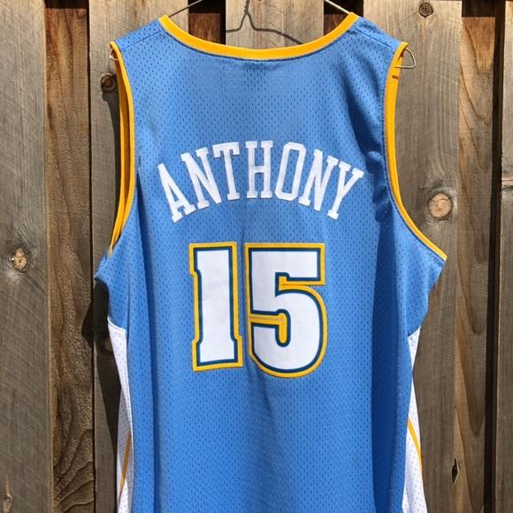 new concept b282b 03364 Denver Nuggets OG Carmelo Anthony Jersey